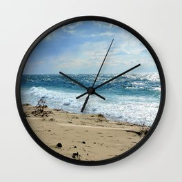 Storm Surge Aftermath Wall Clock