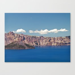 Crater Lake, Mount Mazama, Oregon, Northwest Mountain Canvas Print