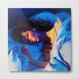 Lorde - Melodrama Metal Print
