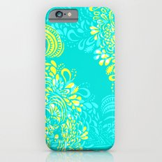 Thinking - 2 colour zest Slim Case iPhone 6s