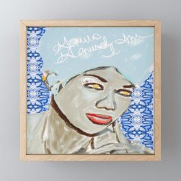Genius of Love Framed Mini Art Print