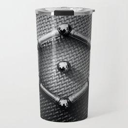 Benzene Molecule Chemical Formula From Metal Travel Mug