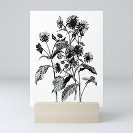 Wild Sunflowers Mini Art Print