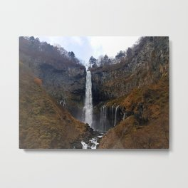 Autumn Falls Metal Print