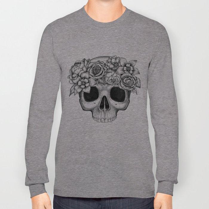 Flowerskull Long Sleeve T-shirt