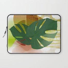 Monstera MCM Abstract Laptop Sleeve
