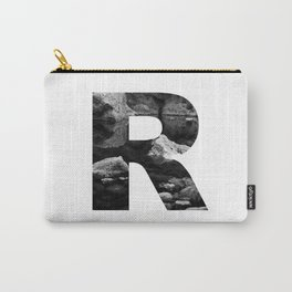 Letter R Carry-All Pouch