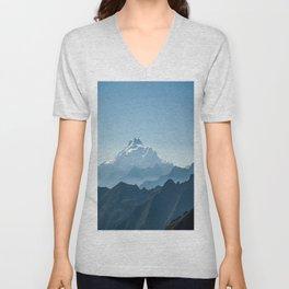 Blue mountains Unisex V-Neck