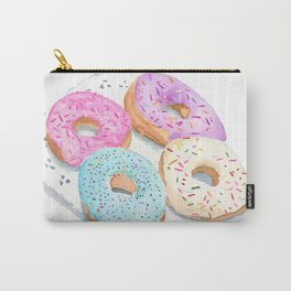 Four Donuts Carry-All Pouch