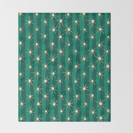 Cactus surface 2 Throw Blanket
