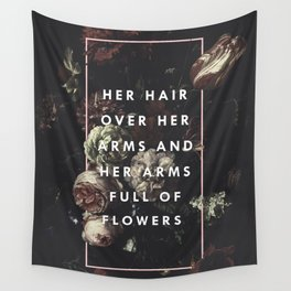 Arms Full Of Flowers Wall Tapestry
