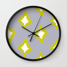 Retro 4 Wall Clock
