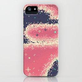 Indigo Nebula (8bit) iPhone 11 case