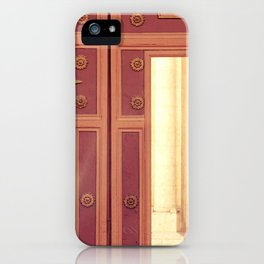 Door to church iPhone Case