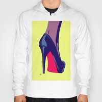 shoe Hoodies featuring Shoe by Giuseppe Cristiano