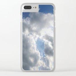 Sky Praise Clear iPhone Case