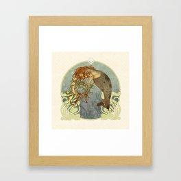 Wreath of the Isles Framed Art Print