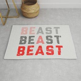 Be a Beast Rug