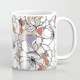 Giant spring flowers Coffee Mug