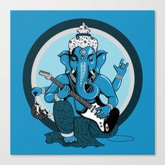 Ganesha rocks ! (v1) Canvas Print