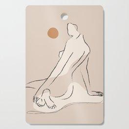 Nude 2 Cutting Board