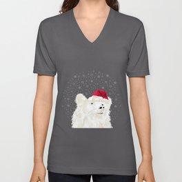 Beary Merry Christmas Unisex V-Neck