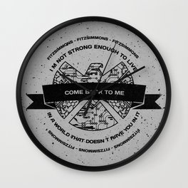 Come Back To Me Wall Clock