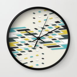 Segment Wall Clock