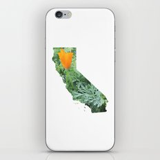 California Poppy in NorCal - State Flower iPhone & iPod Skin