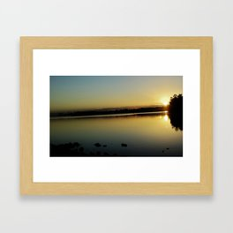 Mt Maunganui beach Framed Art Print