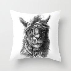 Cute Llama G2013-068 Throw Pillow