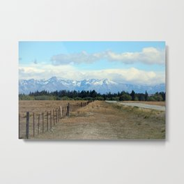 Southern Alps Metal Print