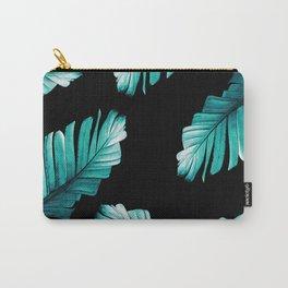 Tropical Banana Leaves Dream #6 #foliage #decor #art #society6 Carry-All Pouch
