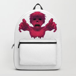 Scary Child Ghost Backpack