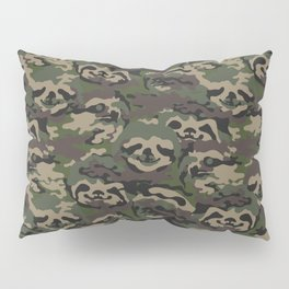 Sloth Camouflage Pillow Sham
