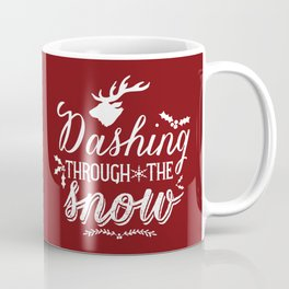 Dashing- Red Coffee Mug