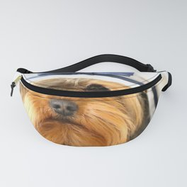 Little Sailor Yorkshireterrier With Sailor Hat #decor #society6 Fanny Pack