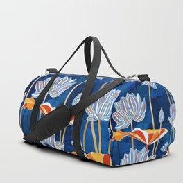 Bold Botanical Duffle Bag