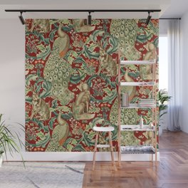 """William Morris """"Forest"""" 2. Wall Mural"""