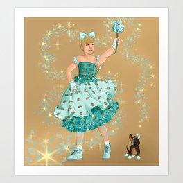 kjh the magical dog boy Art Print