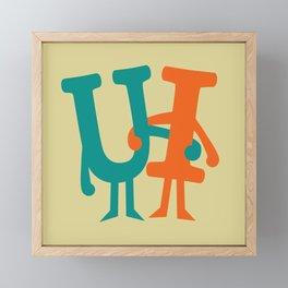 You and I Framed Mini Art Print
