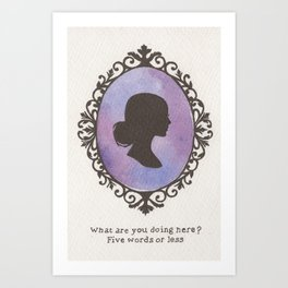Buffy Art Print