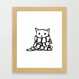 Never Warm Without You Framed Art Print