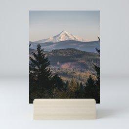 PNW Mount Hood Adventure II Mini Art Print