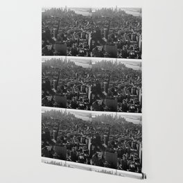 Manhattan Skyline, NY, fine art print, new york city, high quality photo Wallpaper