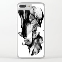 Smoke and Mirrors Clear iPhone Case