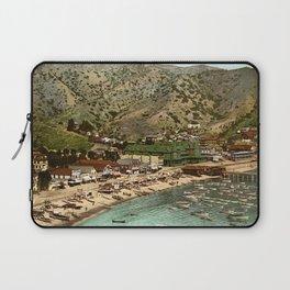 The beach at Avalon, Santa Catalina Island, California, 1903 Laptop Sleeve