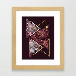 Wine Succulents #society6 #decor #buyart Framed Art Print