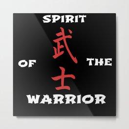 Spirit of the warrior Metal Print