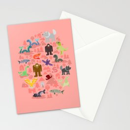 Cryptids of the Pacific Northweird Stationery Cards
